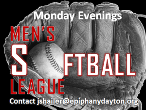 men's softball league GENERIC